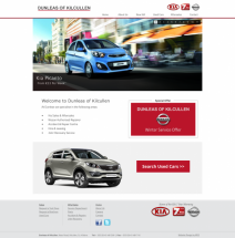 Car Dealership New Website Design