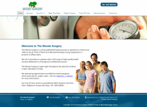 New Website Launch for Woods Surgery