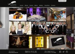 New Website Design for Dublin Restaurant l'Ecrivain