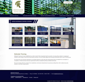 New Website Launch for Fencing Company