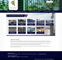 New Website Launch for Security Fencing Company